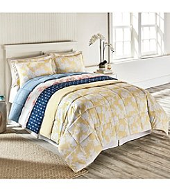 Living Quarters Reversible Microfiber Down-Alternative Comforter