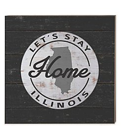Kindred Hearts Illinois Let's Stay Home Sign