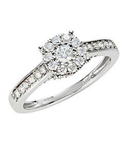 Effy 14K White Gold 0.50 Ct. T.W. Diamond Ring
