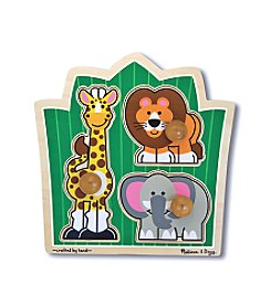 Melissa & Doug® Jungle Friends Jumbo Knob Puzzle