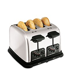Hamilton Beach® Classic Chrome Extra-Wide Slot 4-Slice Toaster