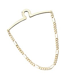 Kenneth Roberts Platinum® Men's Link Tie Chain - Gold