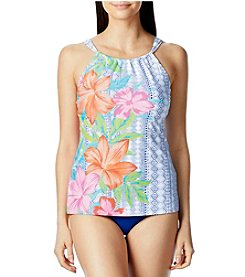 Beach House Blair High Neck Tankini and High Waisted Bottoms