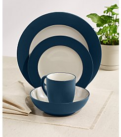 Noritake Colorwave Blue Rim 4-pc. Place Setting