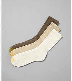 GOLD TOE® Men's 3-Pack Uptown Light Multi Socks