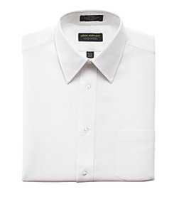 John Bartlett Statements Men's White Striped Dress Shirt