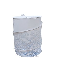 Elegant Home Fashions® Shell Collapsible Hamper
