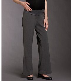 Three Seasons Maternity™ Dress Pants - Gray