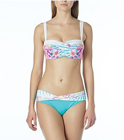 Coco Reef Five Way Bikini Top and Banded Bikini Bottoms