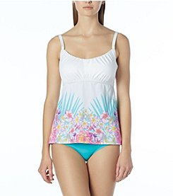 Coco Reef Perfect Fit Tankini Top D-Cup and Banded Bikini Bottoms