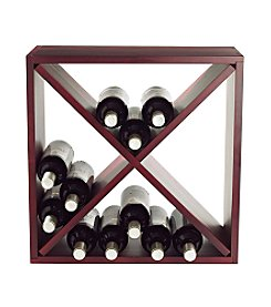 Wine Enthusiast 24-Bottle Wine Rack