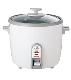 Zojirushi Rice Cooker/Steamer 1.2 Liter - White