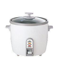 Zojirushi Rice Cooker/Steamer 1.8 Liter - White
