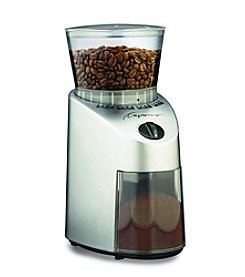Capresso Infinity Conical Burr Grinder-Stainless Finish