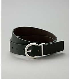 Calvin Klein Jeans® Black/Brown Reversible Belt