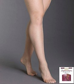 Berkshire® Queen Shimmers Ultra Sheer Control Top Pantyhose - Sandalfoot