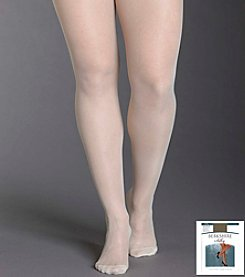 Berkshire® Queen Silky Sheer Control Top Pantyhose - Reinforced Toe