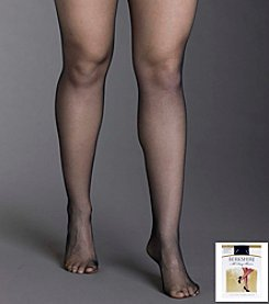 Berkshire® Queen All Day Sheer Non-Control Top Pantyhose - Sandalfoot