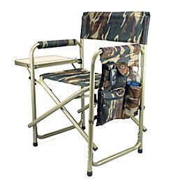 Picnic Time® Camouflage Aluminum Sports Chair