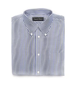 Kenneth Roberts Platinum® Broadcloth Bengal Dress Shirt - Dark Blue