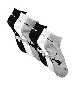 PUMA® 6-Pack Men's Athletic Quarter Socks