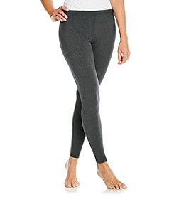 HUE® Heathered Cotton Leggings