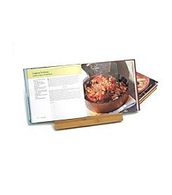 Lipper International Bamboo & Acrylic Cookbook Holder