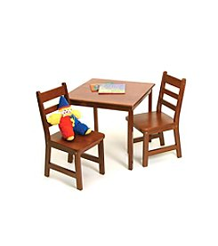 Lipper International 3-pc. Children's Square Table & Chairs Set