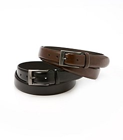 John Bartlett Statements Men's Leather Belt