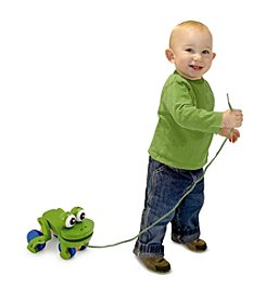 Melissa & Doug® Frolicking Frog Pull Toy