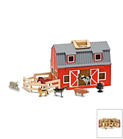 Melissa & Doug® Fold & Go Barn - Carrying Handle