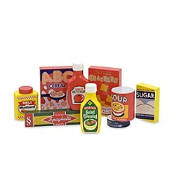 Melissa & Doug® Wooden Pantry Products Set