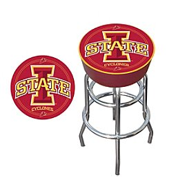 Trademark Global NCAA® Iowa State Cyclones Padded Bar Stool