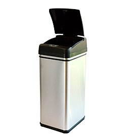 iTouchless® Original 13-gal. Stainless Steel Touchless Trash Can