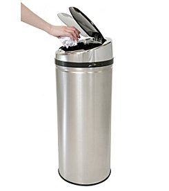 iTouchless® NX 8-gal. Stainless Steel Touchless Trashcan®