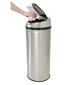 iTouchless® NX 13-gal. Stainless Steel Touchless Trashcan