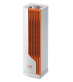 Sunpentown® White Mini Tower Ceramic Heater