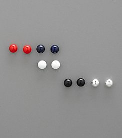 Studio Works® Set of Five Ball Stud Earrings