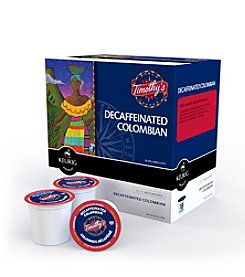 Keurig Timothy's World Coffee® Columbian Decaf 108-pk. K-Cup® Portion Pack