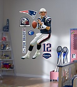 NFL® New England Patriots Tom Brady Wall Graphic by Fathead®