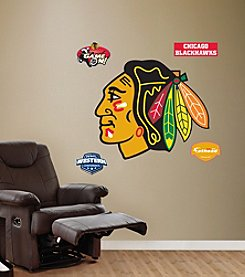 NHL® Chicago Blackhawks Stick-on Wall Graphic