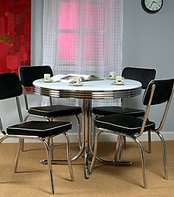 TMS Black Retro Dining Collection
