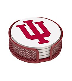 NCAA® Indiana University 4-pc. Coaster Set with Holder