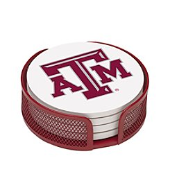 NCAA® Texas A&M 4-pc. Coaster Set with Holder