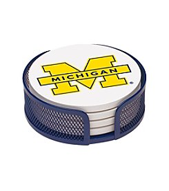 Thirstystone® University of Michigan 4-pc. Coaster Set with Holder