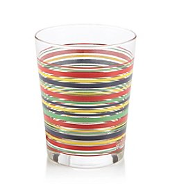 Fiesta® Dinnerware Striped Double Old Fashioned Glass