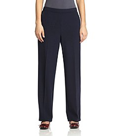 Studio Works® Flat-Front Pull On Pants