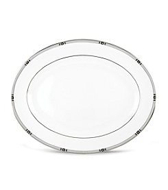 Lenox® Westerly Platinum Oval Platter