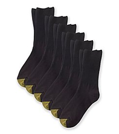 GOLD TOE® 6-Pack Turn Cuff Dress Socks