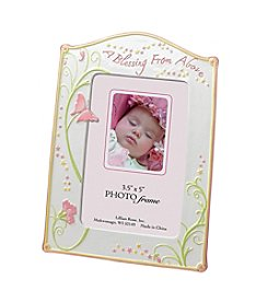 "Lillian Rose® Baby 3 ½x5"" ""Blessing"" Butterfly Frame"